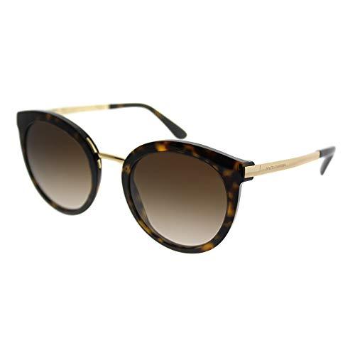 Dolce & Gabbana Women's DG4268 Gold/Brown Gradient ()