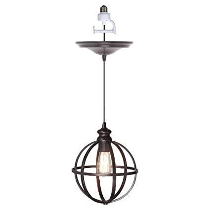 Worth home products instant screw in pendant light with cage worth home products instant screw in pendant light with cage aloadofball Image collections