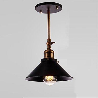 CNMKLM Loft Vintage Lámpara de techo simple montaje ...