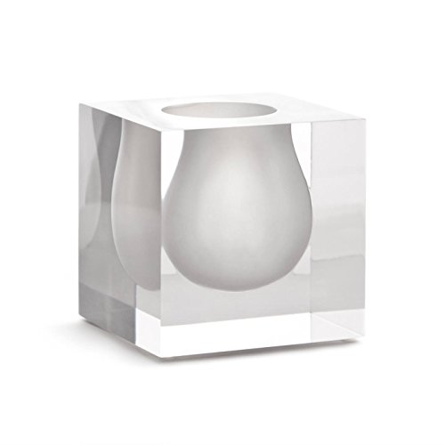(Jonathan Adler Bel Air Mini Scoop Vase, White )
