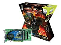 XFX Geforce 6800 GT 256MB AGP8X Graphic Card With Dual DVI TV Out