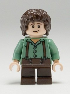 Lego The Lord Of The Rings: Frodo Baggins Minifigure Frodo Baggins Lord Of The Rings
