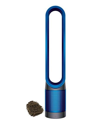 Dyson Pure Cool Link Air Filter HEPA Purifier & Fan, Blue, 305159-01 (Complete Set) w/ Bonus: Premium Microfiber Cleaner Bundle