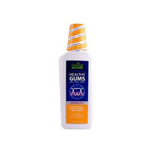 The NATURAL DENTIST Orange Healthy Gums Oral Rinse, 16.9 FZ