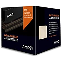 AMD 4 GHz FX-8370 Octa-core  Desktop Processor with Wraith Cooler, Black Edition FD8370FRHKHBX