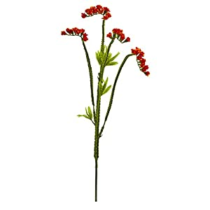 Artificial Flowers -22 Inch Baby Breath Orange Flower-Set of 24 8