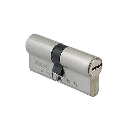 Amig 21544 Cilindro Alta Seguridad, Cromo Mate, 31-31