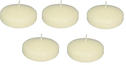 Amazon Com D Light Online Large 3 Ivory Floating Candles Qty 36