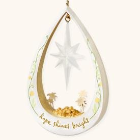 Hope Shines Bright 2008 Hallmark Keepsake Ornament