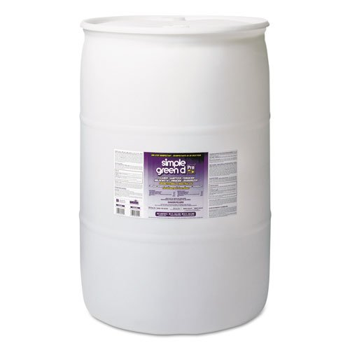simple green d Pro 5 One Step Disinfectant, Unscented, 55 gal Drum - Includes one 55-gallon drum. by Simple Green