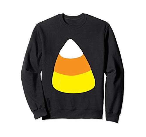 Candy Corn Witch Halloween Costume Tshirt Add Accessory Sweatshirt -