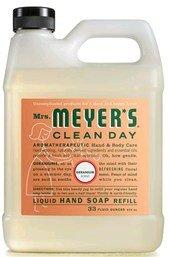 Mrs. Meyer's: Liquid Hand Soap Refill Jug-Geranium, 33 oz (Jug Refill)