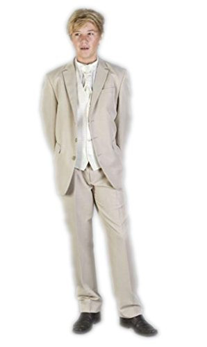 MLT Boy's 3-pieces Formal Slim Party Prom Suit Set (2S) by MLT