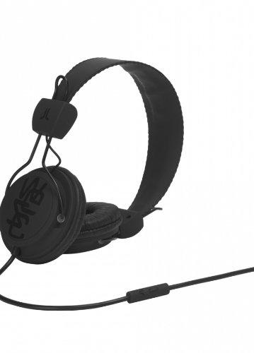 WeSC Matte Conga Headphones Black, One (Conga Headphones)