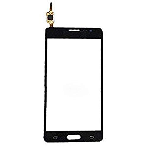 Black Digitizer Touch Screen Lens Glass (without LCD Display) Replacement Part Compatible with Samsung Galaxy On5 SM-G550 G550T