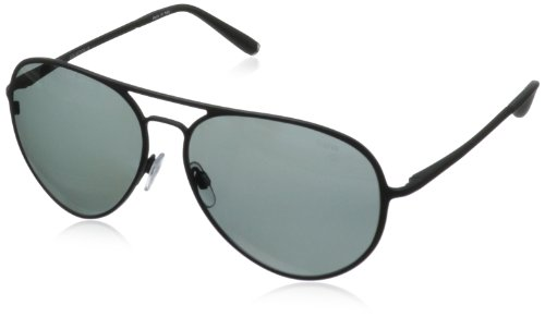 BMW B6500 Polarized Aviator Sunglasses,Matte Black58 mm by BMW