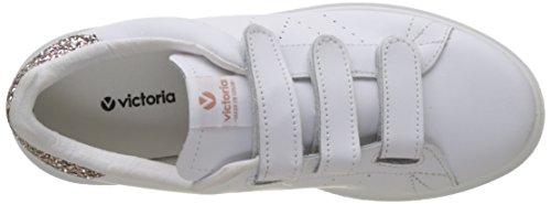 victoria Unisex-Erwachsene Deportivo Piel Velcros Sneaker Pink (Rosa)