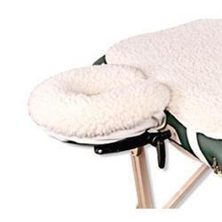 NRG Fleece Face Rest Pad Natural - Fleece Face Cradle Cover