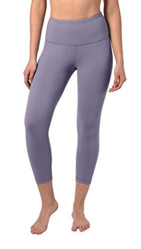 a4040bd7ba 90 Degree By Reflex - High Waist Tummy Control Shapewear - Power Flex Capri  - Plum Shadow - XS