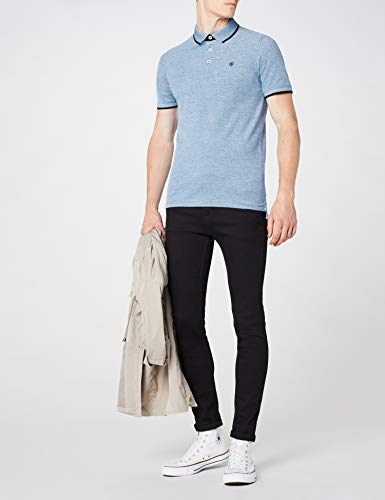 Slim Blu mixed Polo Uomo Fit Jones Cobalt Paulos Fit White bright With Jack amp; xqz7XwXB