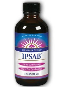 Heritage Store IPSAB Herbal Gum Treatment - 4 Ounce