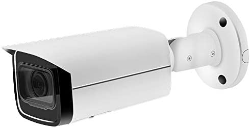6MP IP PoE Security Bullet Camera IPC-HFW4631H-ZSA Motorized Zoom 2.7 13.5mm VF Lens 5X Optical Zoom Outdoor Camera,Built-in Audio,SD Card Slot,IR 80m Night Vision H.265,ONVIF,IP67 Waterproof