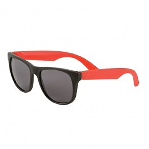 150 Custom Two Tone Matte Sunglasses Imprinted with Your Text - Imprinted Custom Sunglasses