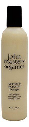John Master Organics Detangler, Rosemary/Peppermint, 8 Fluid Ounce by John Master Organics