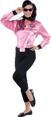 Amscan Pink Ladies Grease Jacket Costume - X-Large (14-16) -