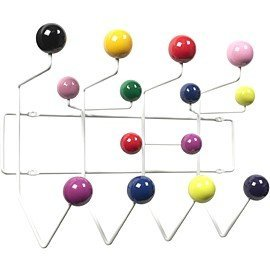charles eames inspired hang it all coat hanger multi. Black Bedroom Furniture Sets. Home Design Ideas