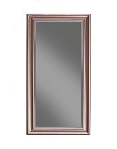 Sandberg Furniture, Full Length Leaner Mirror, Rose Gold (Living Mirrors Room Decor)