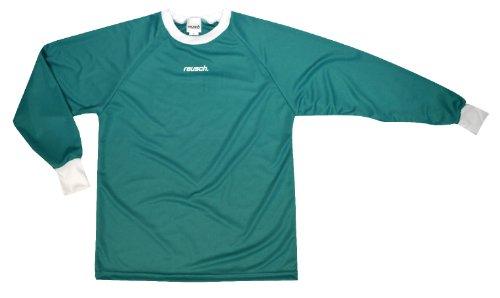 Reusch Soccer Solid Long Sleeve Goalkeeper Jersey, Teal, Large