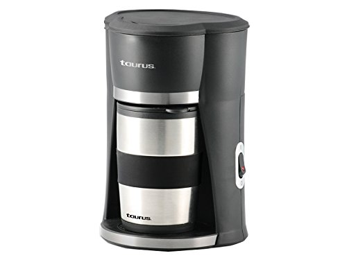 Taurus Sedna Cafetera Personal con Termo, color Negro