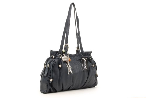 Bolso COLLECTION de Azul hombro ALICE CATWALK Cuero Oscuro q6anE8wwZ