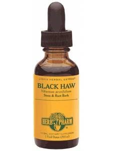 Black Haw Extract, 4 Oz by Herb Pharm (Pack of 4)