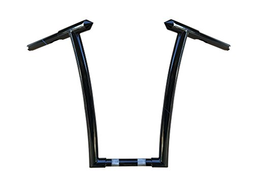 16'' HELLS GATE BARS HANDLEBARS FOR HARLEY ROAD GLIDES , DYNA, SPORTSTER, SOFTAIL by FMB