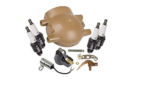(Tisco MTK6FFR Master Tune Up Kit for Ford 4 Cylinder Tractor with Front Mount Distributor)