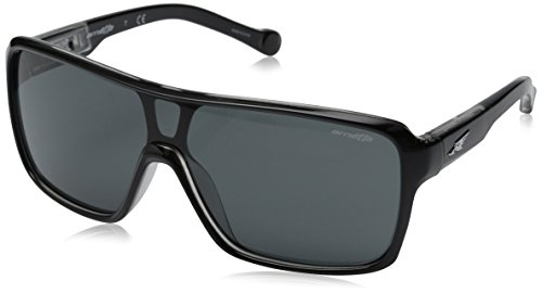 Arnette Tallboy AN4210-05 Shield Sunglasses, Black, 133 - Arnette Eyewear