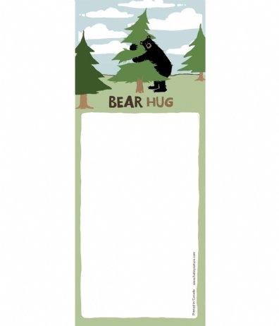 Hatley Bear Hug Magnetic List -