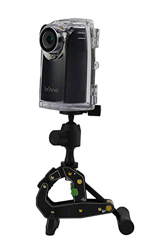 Brinno BCC200 Time Lapse Camera w/Mount & Accessories Best For Construction & Outdoor Security 80 Days Battery Life, 720p HD, Weather Resistant Case Batteries Included ()