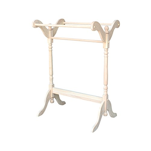 Purchase International Concepts 52390 Quilt Rack, Unfinished