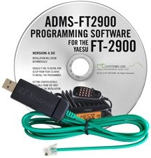 RT Systems Original ADMS-2900 USB Programming Software (Version 5.0) with USB-29F USB to 6-pin Modular Plug