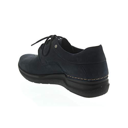 Azul para Zapatos Cordones Wolky Mujer de gqWnw8vWfX