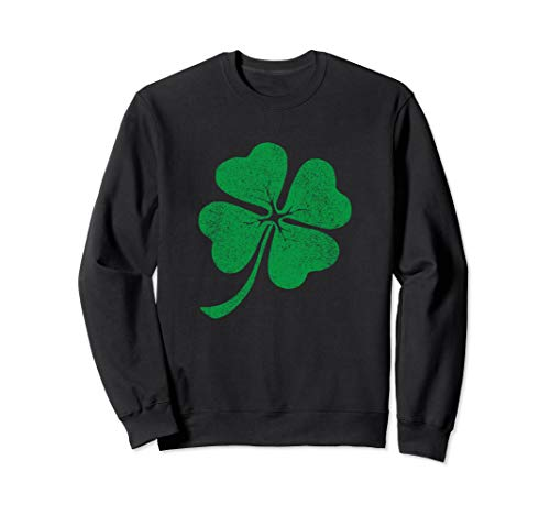 Green clover St Patricks day Sweatshirt for men women & kids