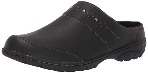 Dr. Scholl's Women's Hasten Shoe, Black Smooth, 9 M US