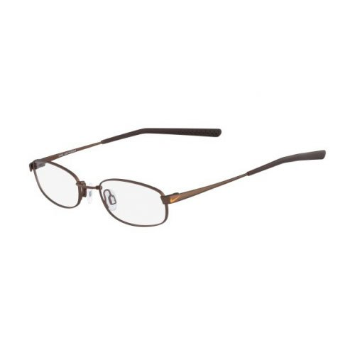NIKE Eyeglasses 4630 241 Satin Walnut Dark Brown 48MM by NIKE