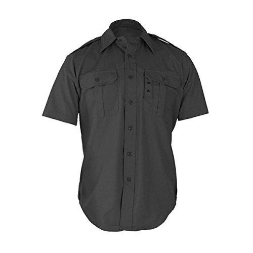 Propper Tactical Dress Shirt - Short Sleeve Dark Grey (Flap Pocket Shirt)