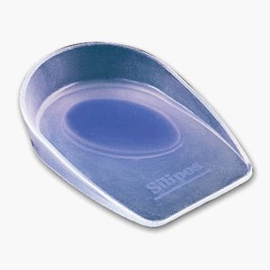 (Silipos Wonder-Spur Soft Silicone Heel Cup #4500 Size Small - Fits M shoe size 2-4 W shoe size 4-5 by Silipos)