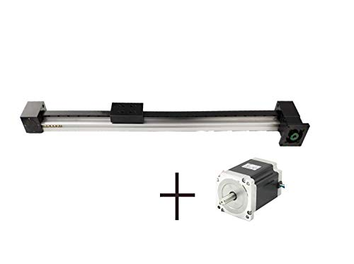 42u Memory - Antrella 1300mm Effective Travel Length, Belt Model 3M Linear Guide Slide Memory with 42 Stepper Motor Nema 17, XP2 Series Motion Sliding Table System, for CNC and 3D Printer, More Stable and Faster