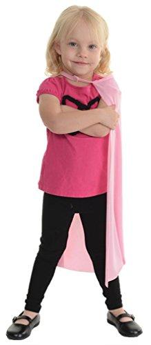 Little Girl's Superhero Cape - Size Calibre Chart